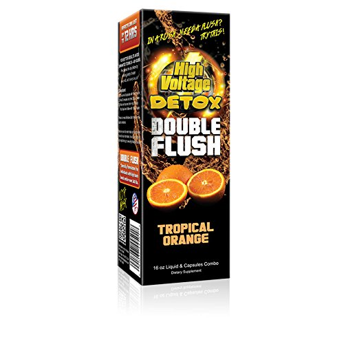 High Voltage Double Flush Tropical Orange