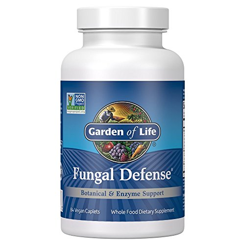 Garden of Life Botanical, Enzyme, and Fermented Whole Food Supplement - Fungal Defense for Digestive Health, Vegetarian, 84 Caplets