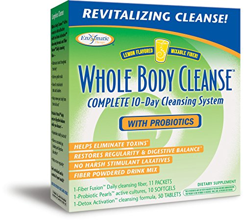Enzymatic Therapy Whole Body Cleanse Complete 10-Day System Detox Activation Cleansing Kit
