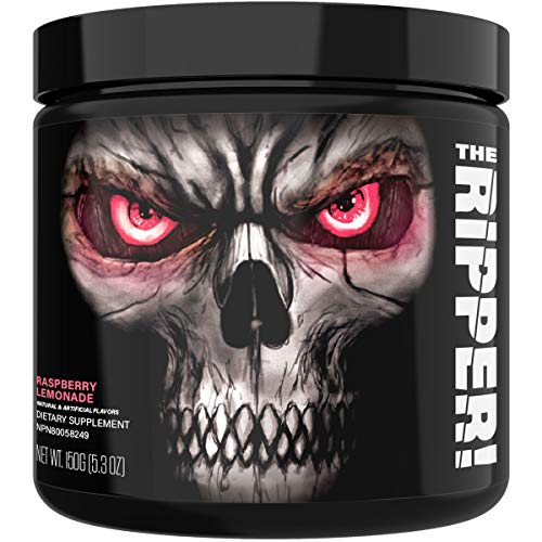 JNX Sports The Ripper! Fat Burner Dietary Supplement with Super Thermogenesis, Appetite Control & Extreme Energy, Men & Women | Raspberry Lemonade | 30 SRV