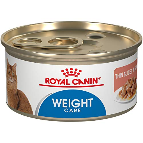 Royal Canin Feline Care Nutrition Ultra Light Thin Slices In Gravy Canned Cat Food, 3 oz Can (Case of 24)