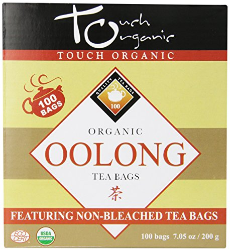 Touch Organic Tea, Cube Oolong, 100 Count