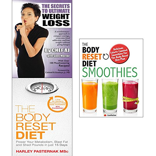 Secrets to ultimate weight loss, body reset diet and smoothies 3 books collection set