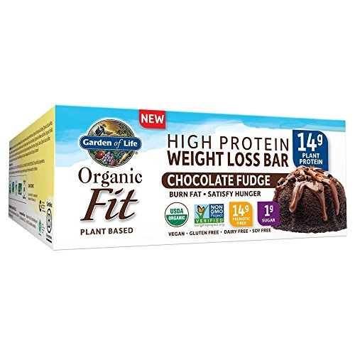 Garden Of Life, Bar Fit High Protein Chocolate Fudge Organic, 1.9 Ounce, 12 Pack