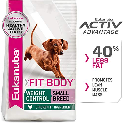 Eukanuba Fit Body Weight Control Small Breed Dry Dog Food, 5-Pound