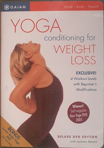 Yoga Conditioning for Weight Loss Deluxe DVD Edition with Suzanne Deason: With Bonus Lower Body Yoga DVD
