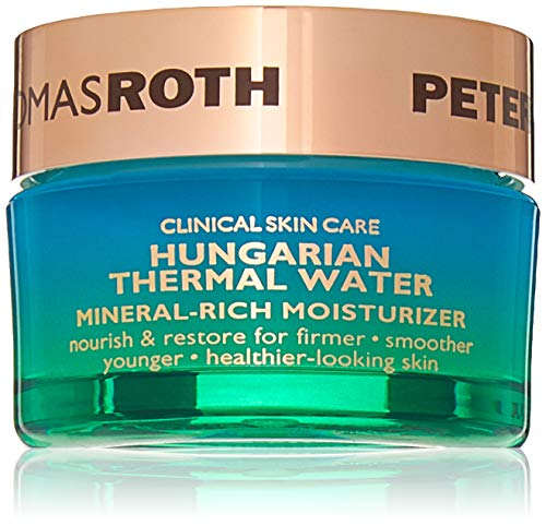Hungarian Thermal Water Mineral-Rich Moisturizer, Hydrating Facial Moisturizer with Botanicals for Fine Lines, Wrinkles, Dullness, Uneven Skin Tone and Texture