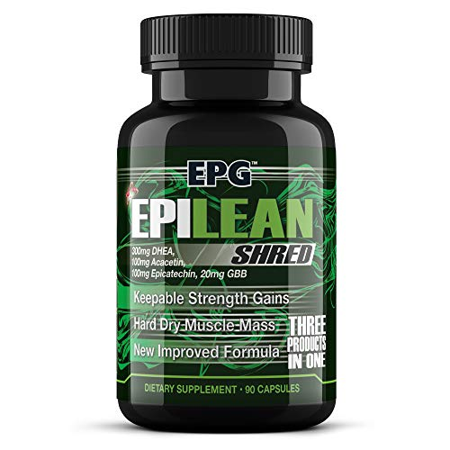 Epilean Shred- Thermogenic for Men, Fat Loss, Weight Loss, Appetite Reduction, Curb Appetite, Improve Cardio, 1 Month Supply