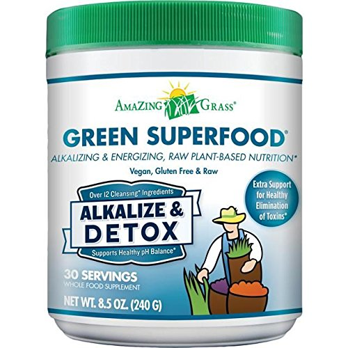 Amazing Grass Alkalize Detox Green Superfood - 240g (0.53lbs)