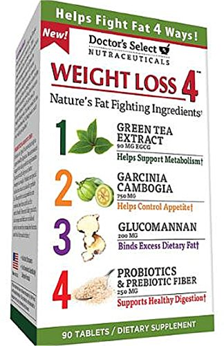 Doctor's Select Weight Loss 4, Tablets 90 ea (Pack of 6)