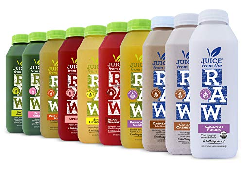 5-Day Juice Cleanse n' Lunch (20 Total 16 oz. Bottles) - FREE 2-Day Delivery