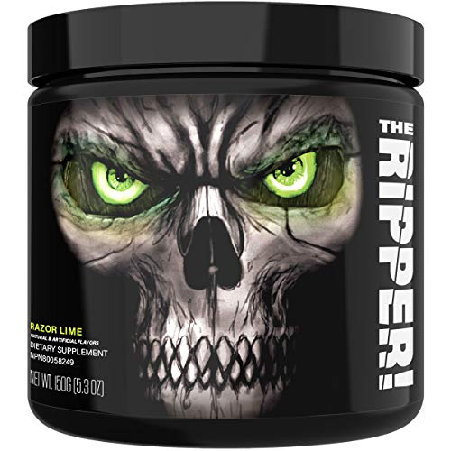 JNX Sports The Ripper! Fat Burner Dietary Supplement with Super Thermogenesis, Appetite Control & Extreme Energy, Men & Women | Razor Lime | 30 SRV