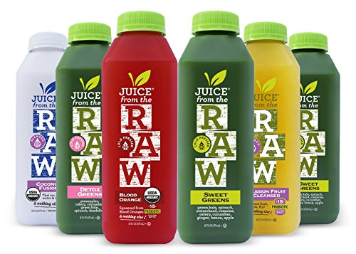 3-Day Juice Cleanse with Probiotics (18 Total 16 oz. Bottles) - FREE 2-Day Delivery