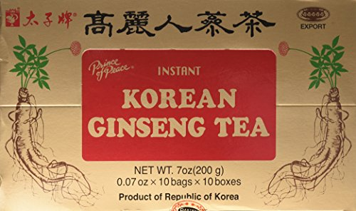Prince Of Peace Instant Korean Panax Ginseng Tea - 100Count