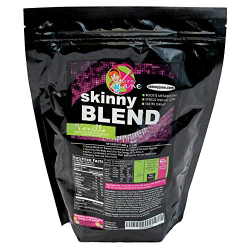 Best Tasting Protein Shake for Women - Delicious Smoothie - Weight Loss - Low Carb - Diet Supplement - Weight Control - Appetite Suppressant - Energy - 30 Shakes/Bag (Vanilla) Skinny Blend