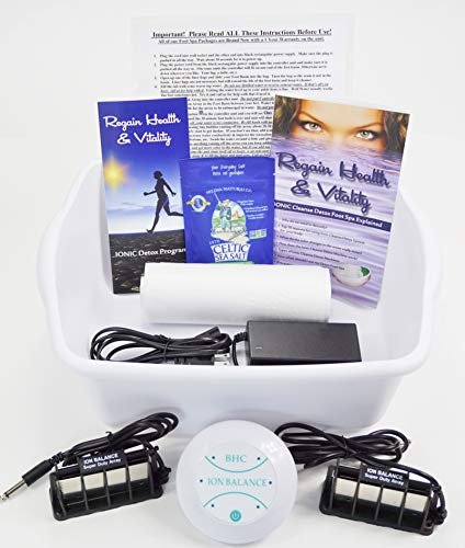 Detox Foot SPA Aqua CHI Cleanse Machine with Super Duty ARRAYS are Stronger & Longer Lasting; SPA Detox Foot Bath