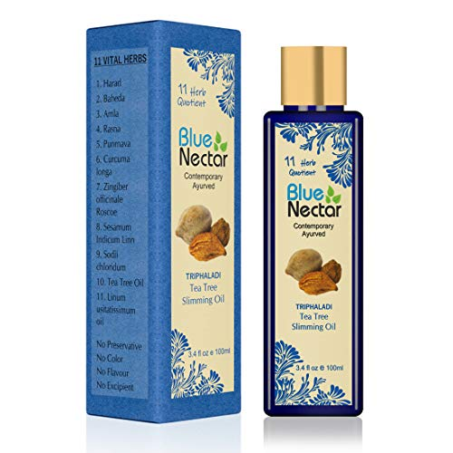 Blue Nectar Ayurvedic Anti Cellulite & Ayurvedic Slimming Oil 200Ml