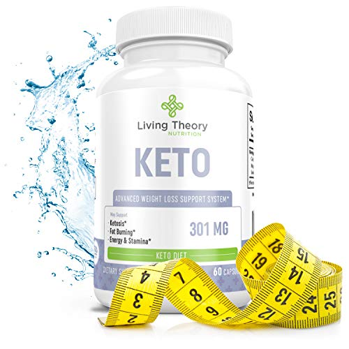 Pure Keto Slim Boost Pills with bhb exogenous Ketones Supplement for Advanced Weight Loss - Hunger Carb Blocker - Rapid Weight Loss Supplements - (60ct)