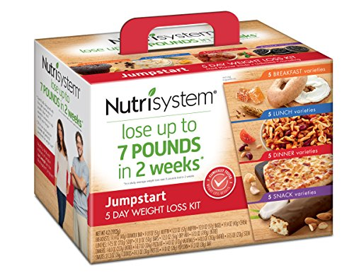 NUTRISYSTEM  5 Day JUMP START Weight Loss Kit, 20 Count