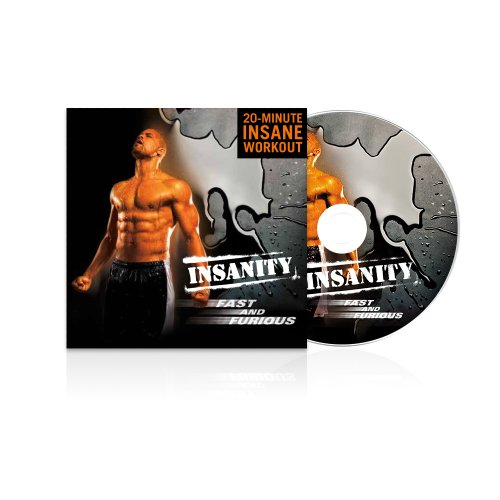 Beachbody Insanity Fast and Furious DVD Workout