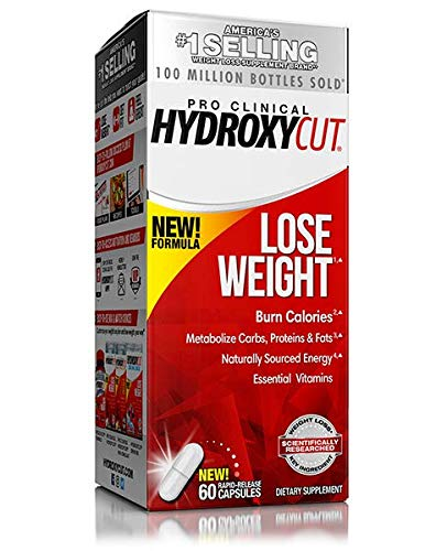 Hydroxycut Pro Clinical Weight Loss Formula 60 capsules