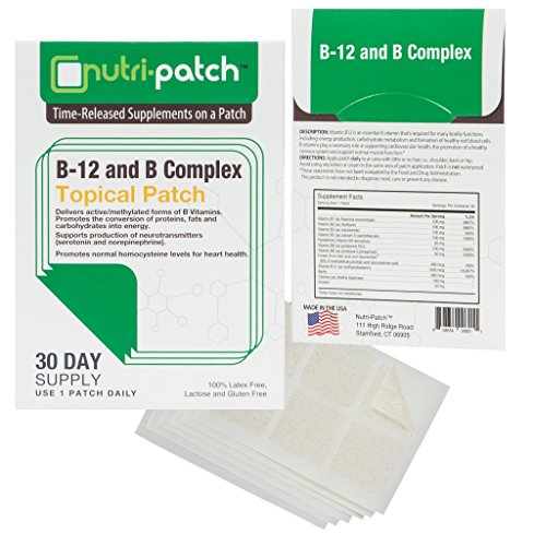 B12 & Complex Topical Patch. Nutrients in a Patch from Nutri-Patch