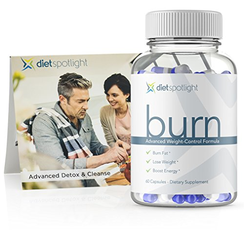 Burn TS FitKit - Weight Loss Formula Metabolism & Energy Booster, Appetite Suppressant & Effective Thermogenic Supplement (1 Month & 3-Day Detox)