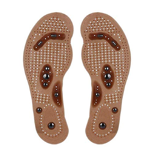 New Acupressure Slimming Insoles - Magnetic Health Massage Insole for Men Women (24cm(Women))