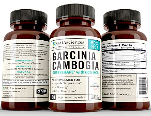 Pure Garcinia Cambogia Fat Burner: Proven Weight Loss Support, Premium HCA Extract Appetite Suppressant, Carb Blocker, Dr Recommend Weight Loss Supplement Pill That Works