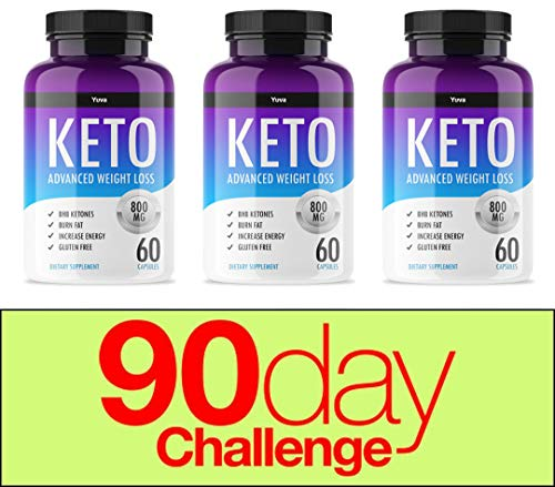 QFL Yuva Keto Diet Pills-exogenous Ketones - Utilize Fat for Energy with Ketosis - Boost Energy & Focus, Manage Cravings, Support Metabolism - Keto BHB Supplement for Women and Men - 90 Day Supply