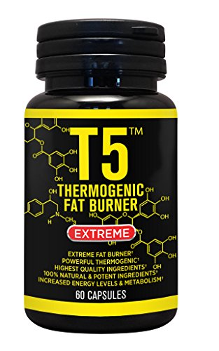 Strongest Legal Slimming Diet Pills T5 Fat Burner Capsules 100% Slim Weight Loss