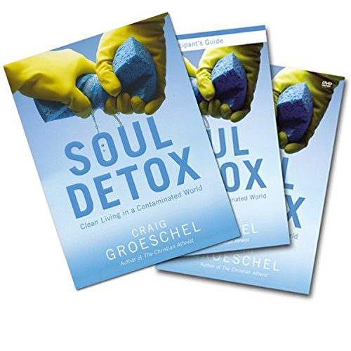 Craig Groeschel Full Set (Book + DVD + Study Guide) - Soul Detox: Clean Living in a Contaminated World