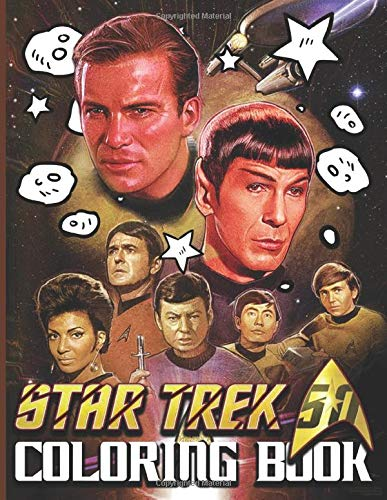 Star Trek Coloring Book: Color To Relax Star Trek Adult Coloring Books For Women And Men. Unique Colouring Pages
