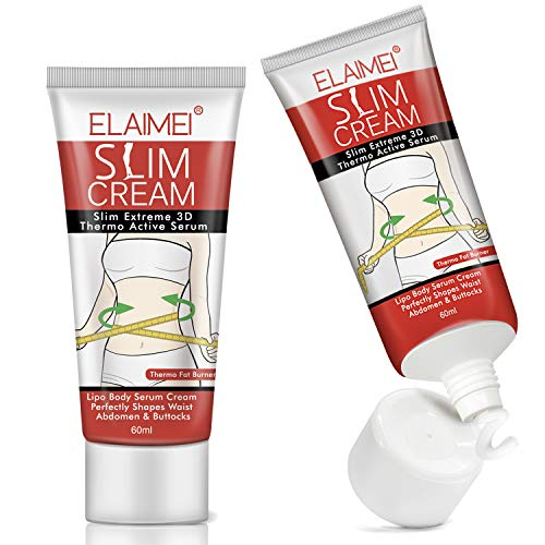 2Pack Hot Cream Cellulite and Fat Burner, Slimming Weight Loss Cream, Fat Burning Cream for Belly, Cellulite Treatment Cream for Men and Women, Body Thighs, Legs, Abdomen, Arms and Buttocks-60ML