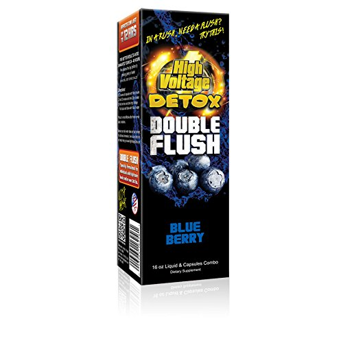 High Voltage Detox Double Flush Blue Berry