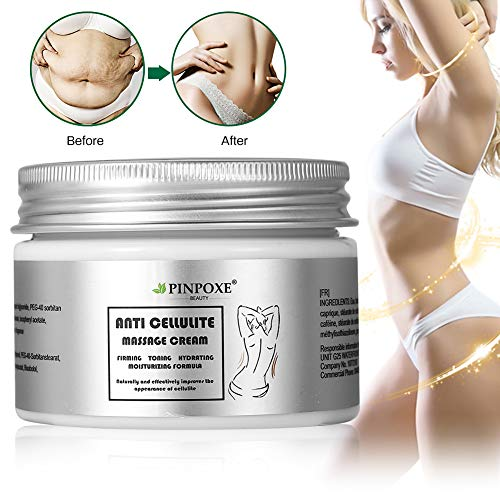 Anti Cellulite Cream, Hot Cream, Cellulite Remover, Anti Cellulite Treatment, Body Firming and Tightening, Works for Anti Cellulite Oil Massage and Workout Sweat