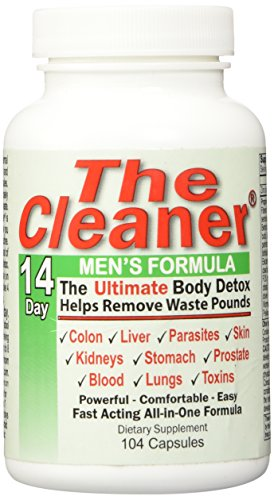 The Cleaner 14Day Men's Formula Ultimate Body Detox (104 Capsules)