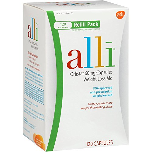 alli Refill Pack 120 Caps (Pack of 4)