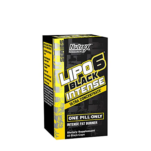 Lipo 6 Black Intense Ultra Concentrate Once Daily (60 BlackCaps)