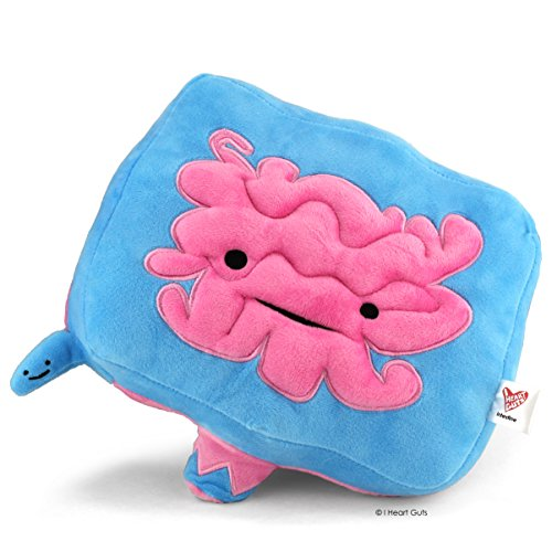 I Heart Guts Intestine and Appendix Plush - Go With Your Gut! - 9' Intestinal Support Stuffed Toy