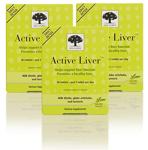 New Nordic Active Liver, 30 Tablets, Pack of 3
