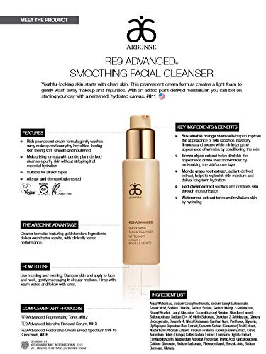 RE9 Advanced Smoothing Facial Cleanser #811