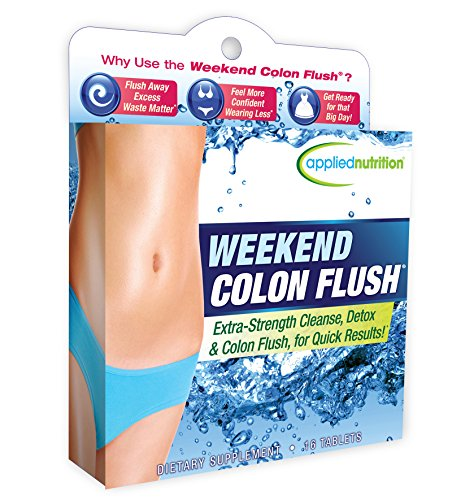 Applied Nutrition Weekend Colon Flush, 16 Count