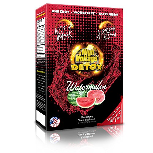 High Voltage Detox Drink 32oz Watermelon