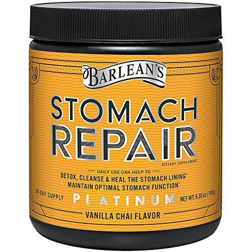 Barlean's Stomach Repair, Vanilla Chai, 6.35 Ounce